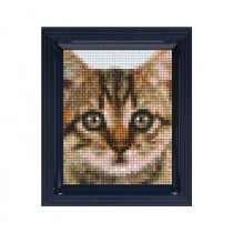 Pixelbild Katze