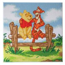 Bastelset Crystal Art Disney Pooh and Tigger