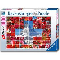 Puzzle Swissness Kreuz