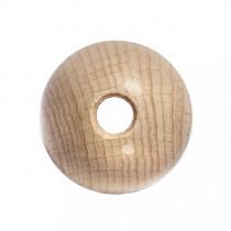 Rohholzkugeln, gebohrt 30 mm ø