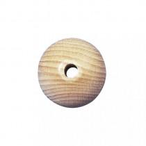 Rohholzkugeln, gebohrt 23 mm ø