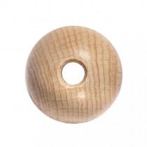 Rohholzkugeln, gebohrt 45 mm ø