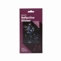 Reflective Sticker violett