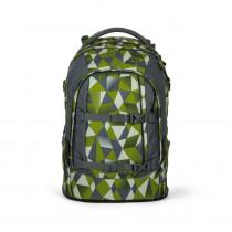 satch Schulrucksack pack Green Crush vorn