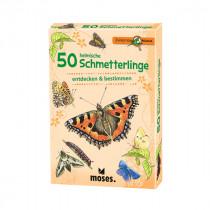 50 einheimische Schmetterlinge