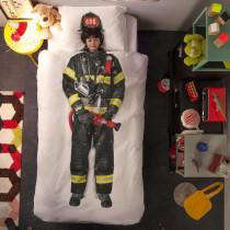 Bettwäsche Feuerwehrmann Image