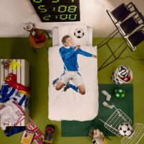 Bettwäsche Fussball blau Image