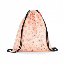 Sportbeutel Mysac Kids Cats and Dogs Rose
