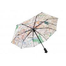 Regenschirm Rainmap St. Gallen No. 1