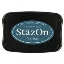 Stempelkissen StazOn, petrol
