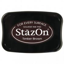 Stempelkissen StazOn, dunkelbraun