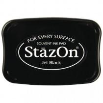 Stempelkissen StazOn, schwarz