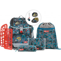 2in1 Plus Reflect Schulrucksack Set 6teilig Stone Explosion Limited Edition Set