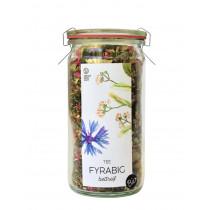 Fyrabigtee im Weck-Glas