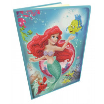 Crystal Art Disney Notizbuch Little Mermaid