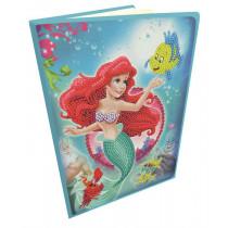 Crystal Art Disney Notizbuch Little Mermaid
