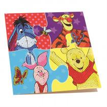Crystal Art Card Disney Winnie The Pooh Puzzle