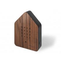 Zwitscherbox Nussbaum-schwarz