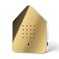 Zwitscherbox gold-weiss