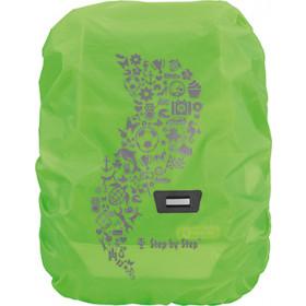 Regen- und Sicherheitshülle grün Medium