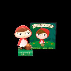 Hörfigur: 5 Lieblings-Märchen - Rotkäppchen und 4 weitere Märchen