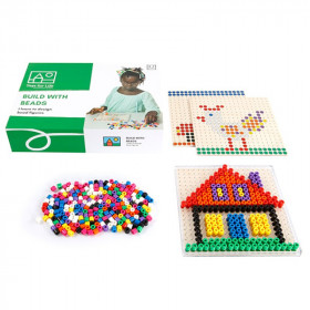 Lernspiel Build with beads