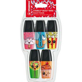 Leuchtmarker Mini Sweet Friends 5-er
