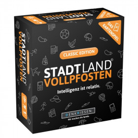 Kartenspiel Stadt Land Vollpfosten Classic
