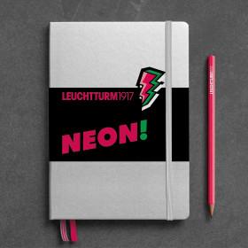 Notizbuch A5 neon pink