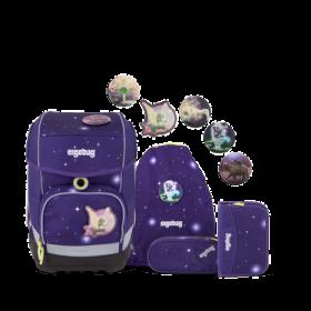 ergobag cubo Schulrucksack Set FeenzauBär Special Edition 5tlg. violett