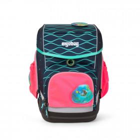 ergobag Sicherheitsset mit Seitentaschen Zip-Set pink