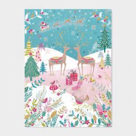 Adventskalender Reindeer Scene