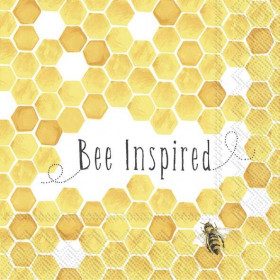 Serviette Bee Inspired