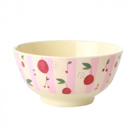 Melamin Bowl Cherry Print