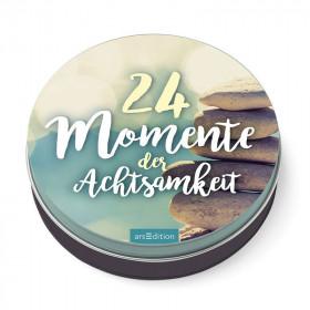 24 Momente der Achtsamkeit – Dosenadventskalender