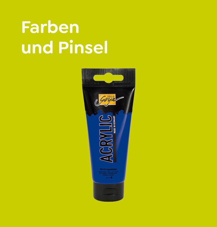 dadodo Farben und Pinsel