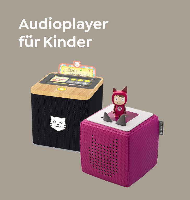 Audioplayer für Kinder
