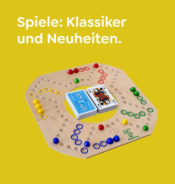 Spiele: Klassiker und Neuheiten